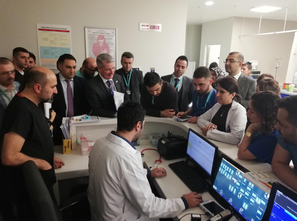 AKGÜN YAZILIM Hastane Bilgi Yönetim Sistemi ile Tüm Avrupa'da Eski HIMSS EMRAM Kriterlerine Göre 5.ci, Yenilenen 2018 HIMSS EMRAM Kriterlerine Göre ise HIMSS STAGE 7 Akreditasyonu Alan İlk Hastane Yozgat Şehir Hastanesi Oldu.