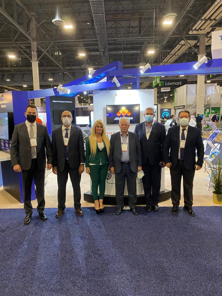 AKGÜN Teknoloji, HIMSS 2021 Global Konferans ve Fuarında Devler Arenasındaydı